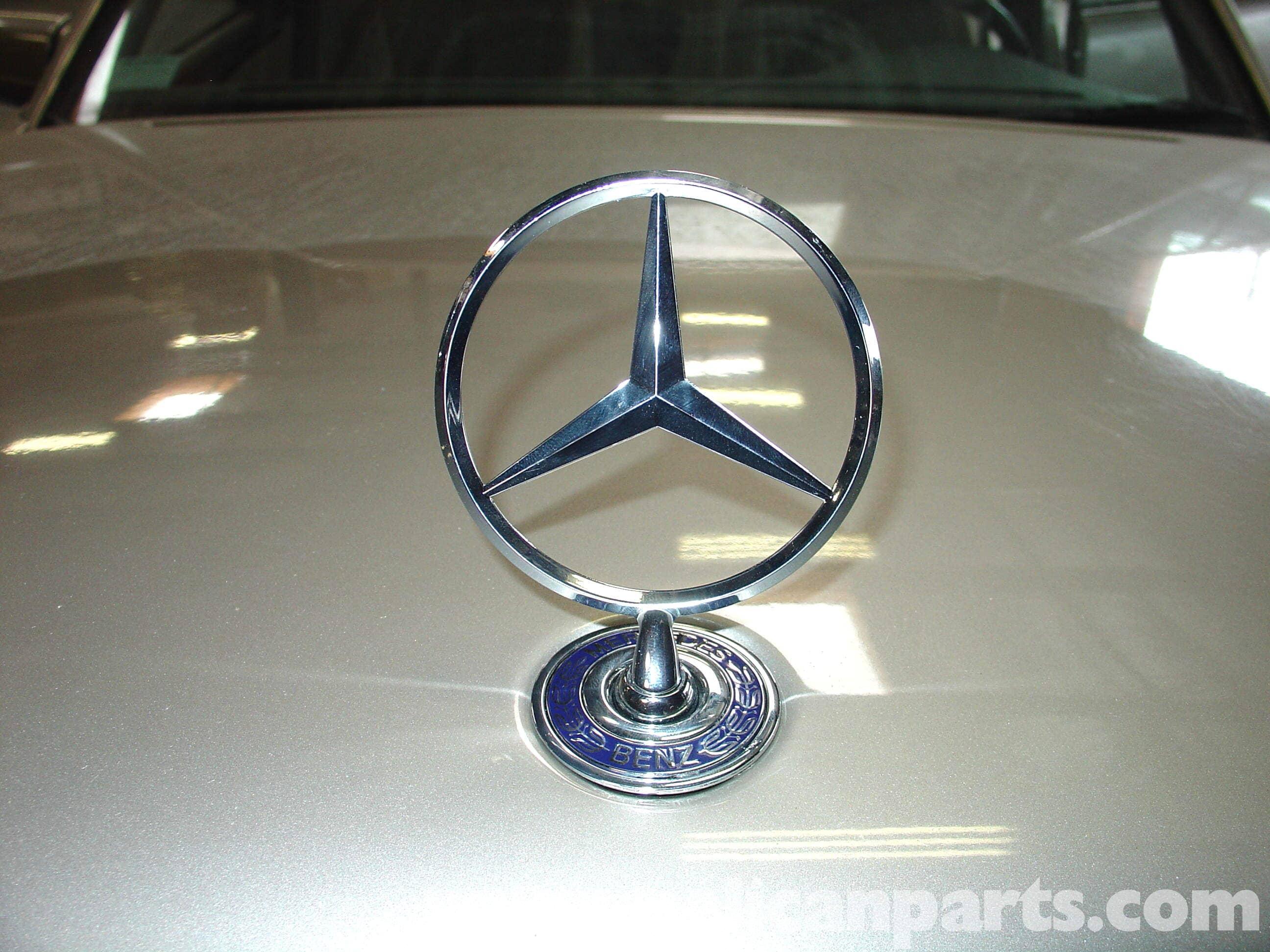 Mercedes benz hood ornament replacement