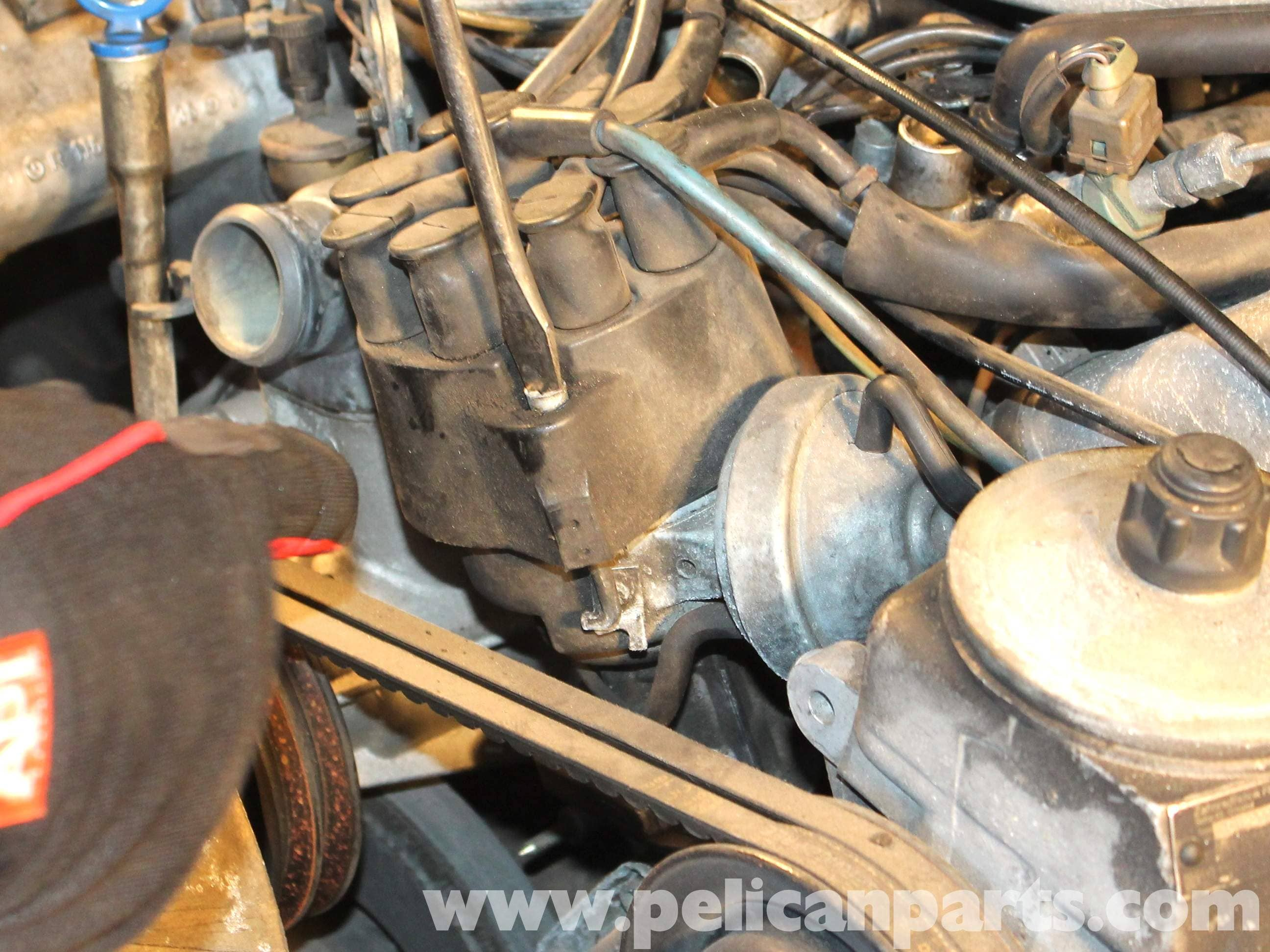 Mercedes-Benz R107 Ignition Wires, Rotor and Distributor Cap ...