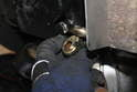 After the inner kick down solenoid is removed the outer kick down is removed by dislodging it from the lead that is attached to it.