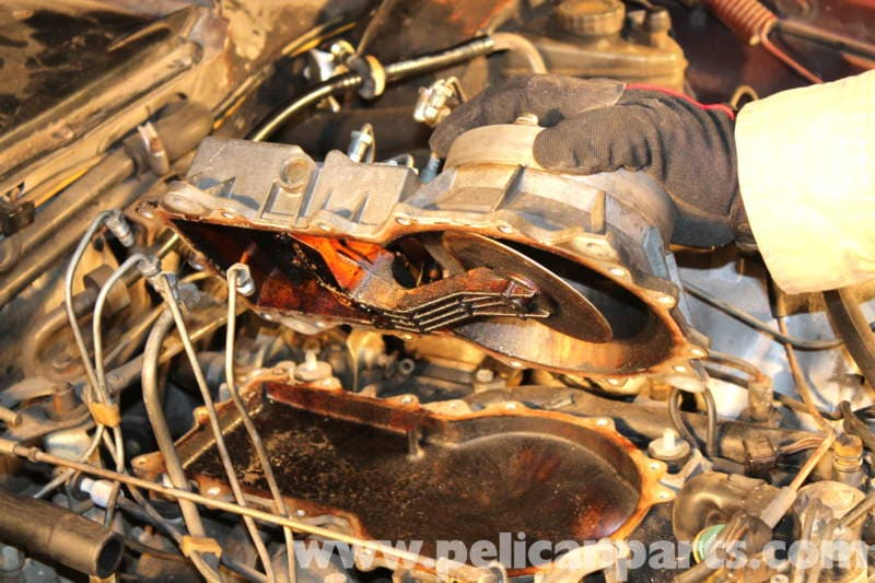 Mercedes Benz R107 Intake Manifold Replacement And