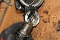 Open the end cap of the solenoid to examine the lead for corrosion.