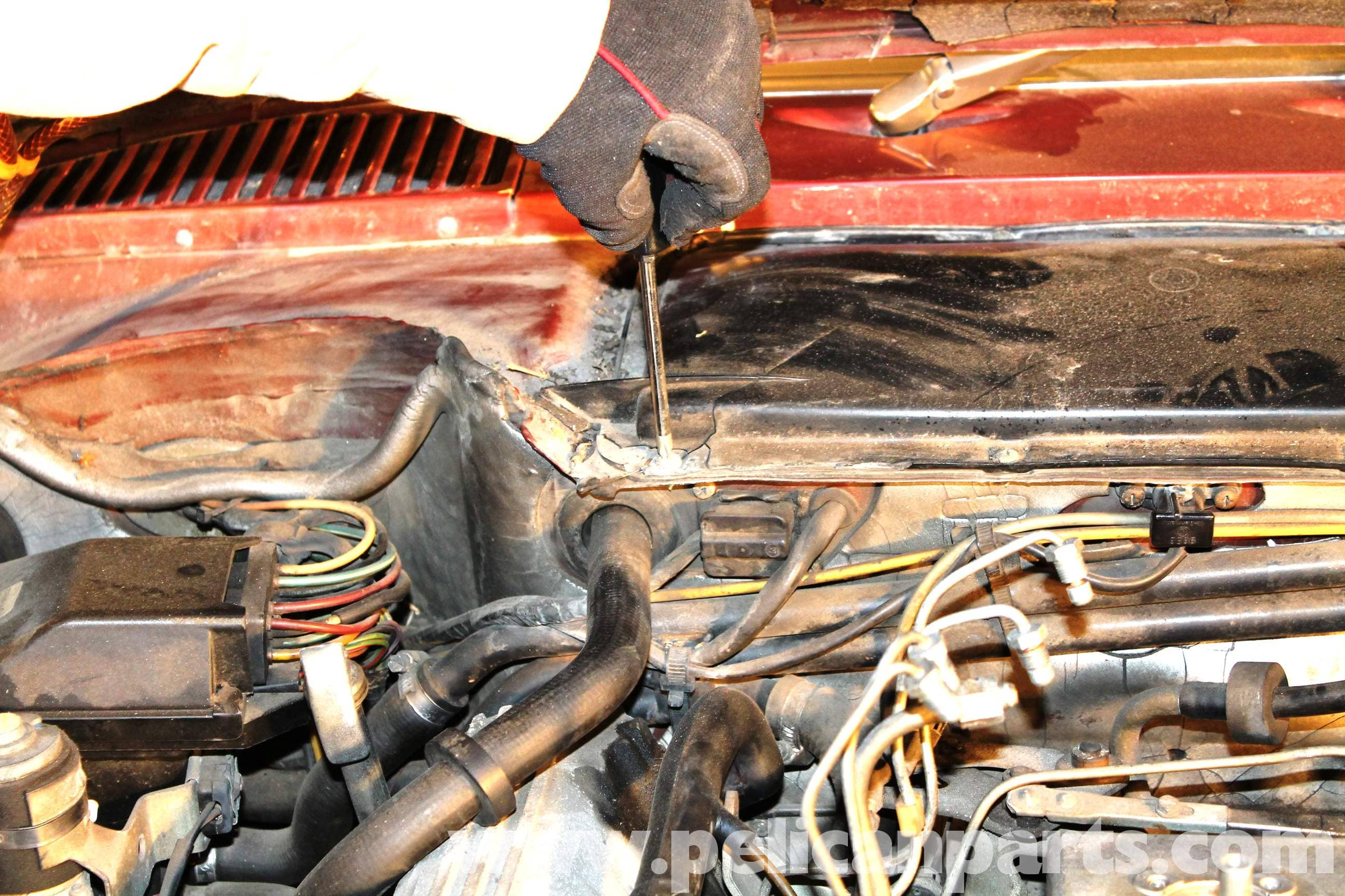Front Windshield Replacement >> Mercedes-Benz R107 Heater Blower Motor Replacement | 1972 ...