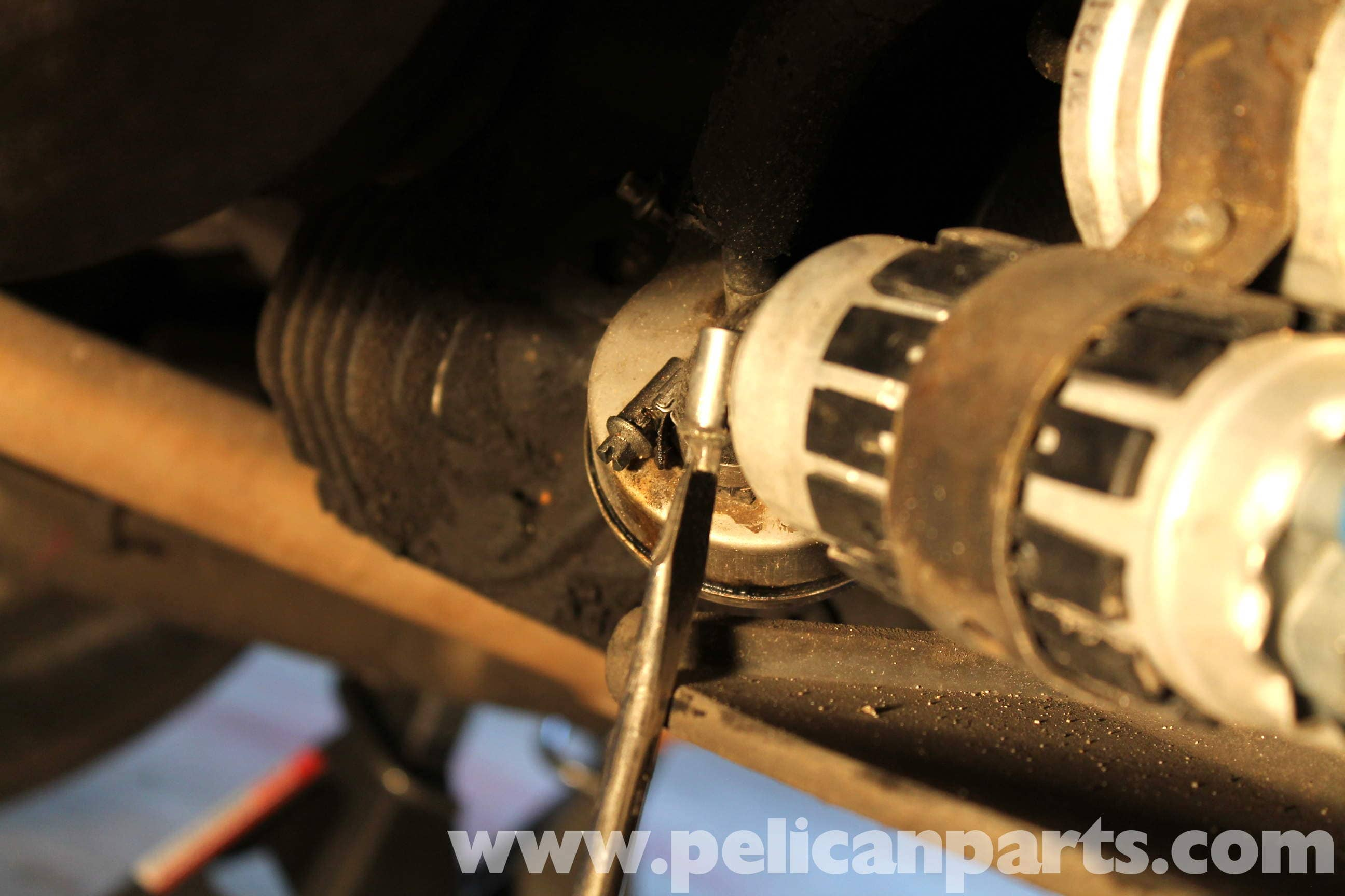 Mercedes Benz R107 Fuel Filter Replacement 1972 1986 450sl Hose Tool In The Lines Large Image Extra