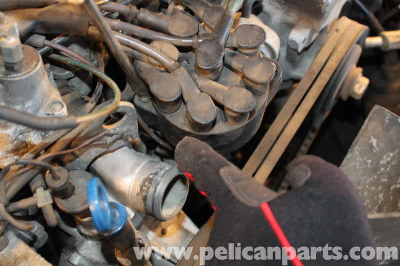 Mercedes-Benz R107 Distributor Replacet | 1972-1986 - 450SL ...