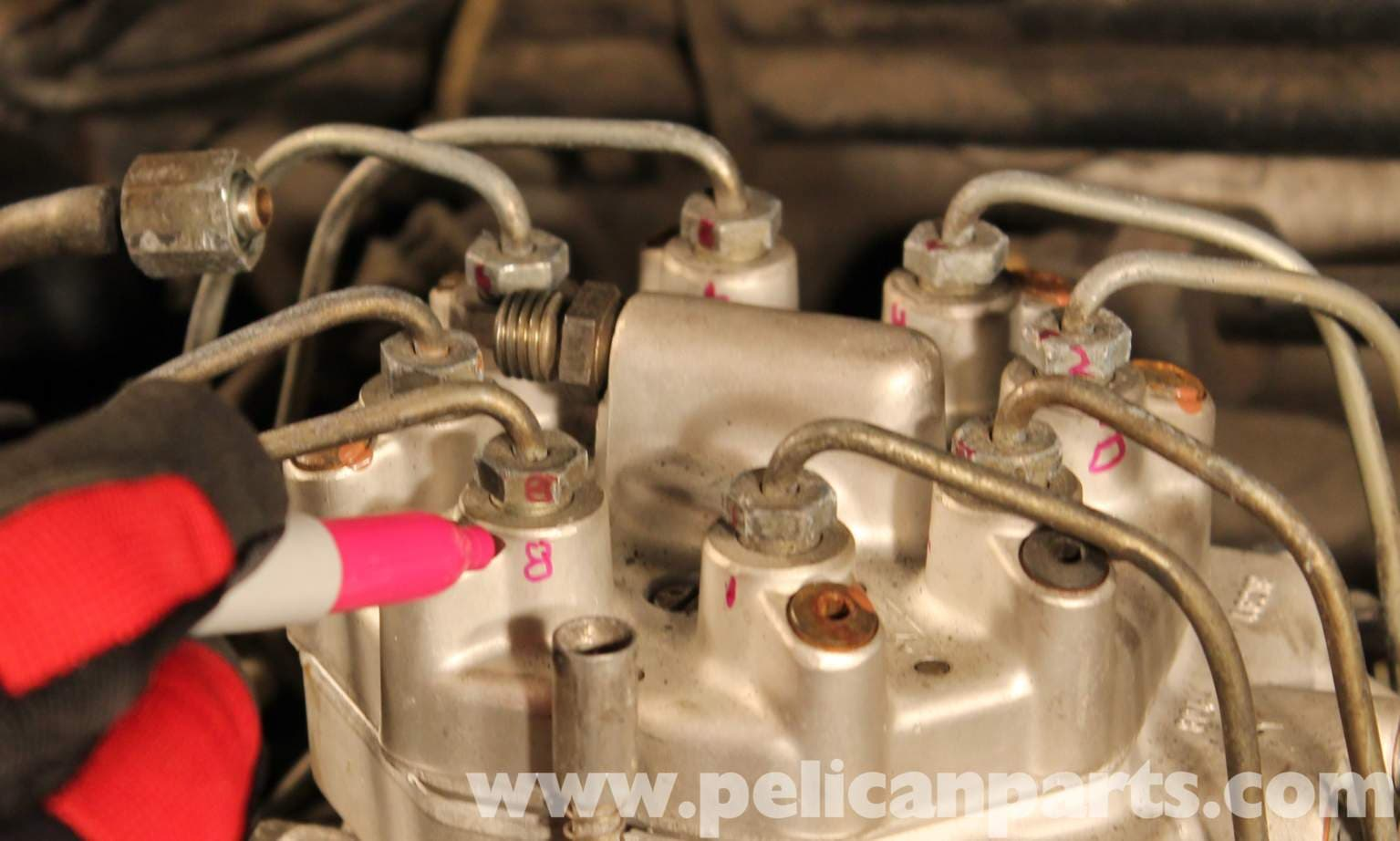 mercedes benz r107 fuel distributor replacement 1972
