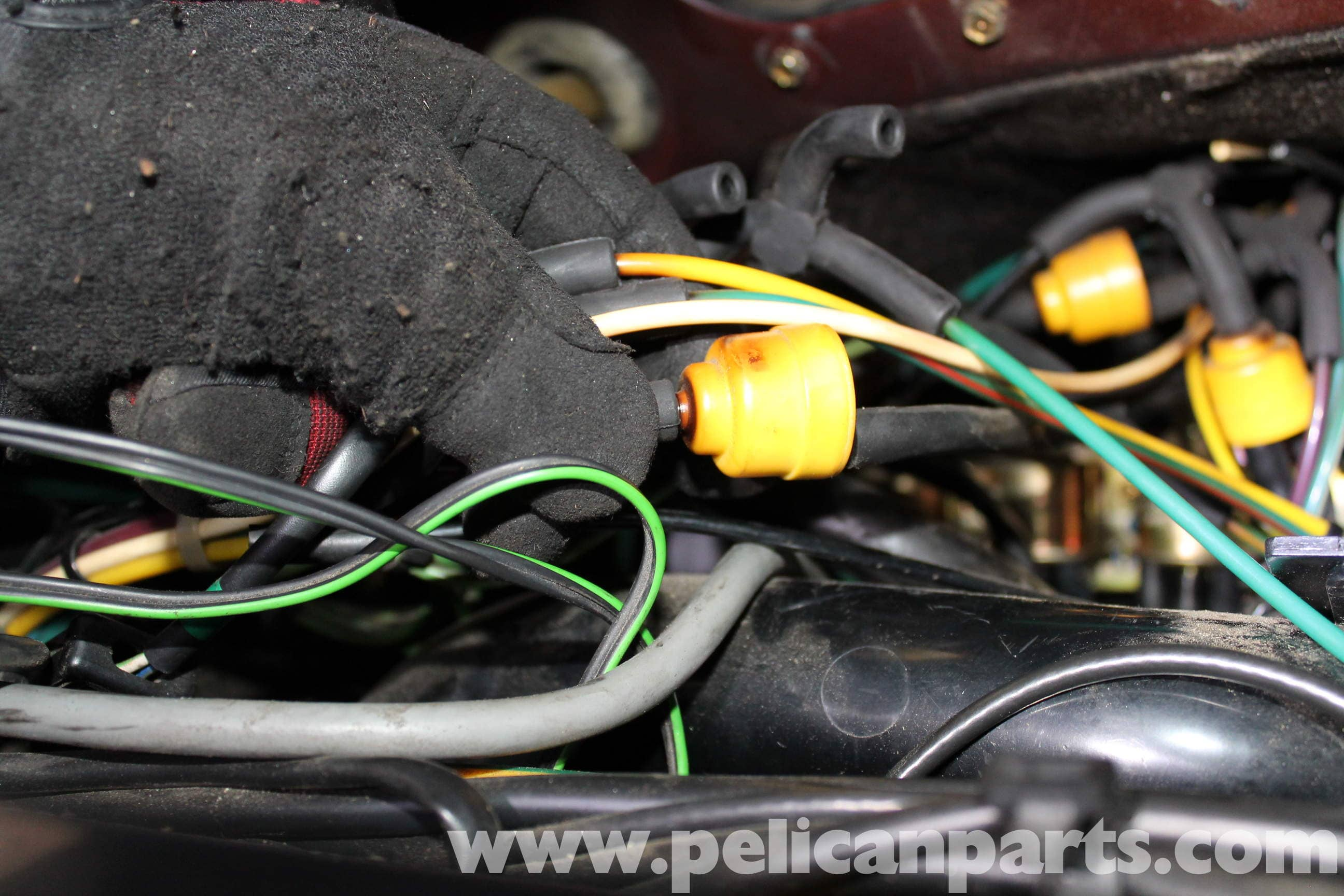 Mercedes Benz R107 Main Vacuum Switch Replacement 1972