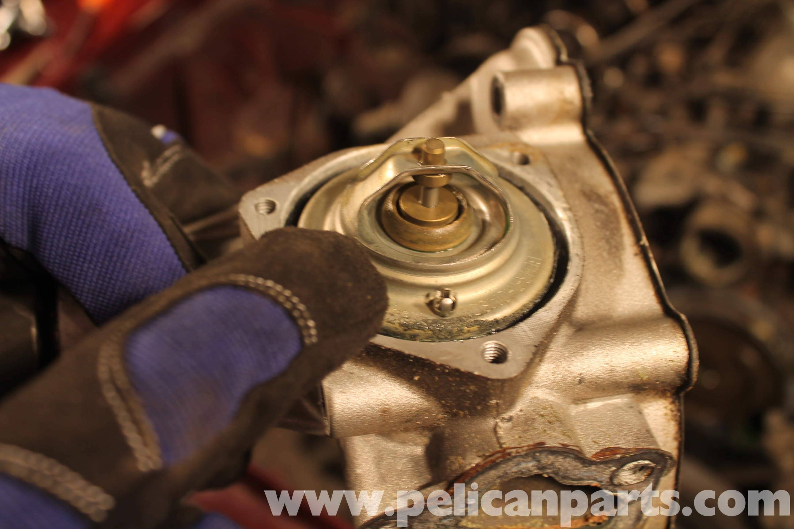 Mercedes Benz R107 Thermostat Replacement 1972 1986
