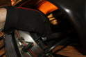 The speedometer cable is attached to the instrument cluster with a cable screw.