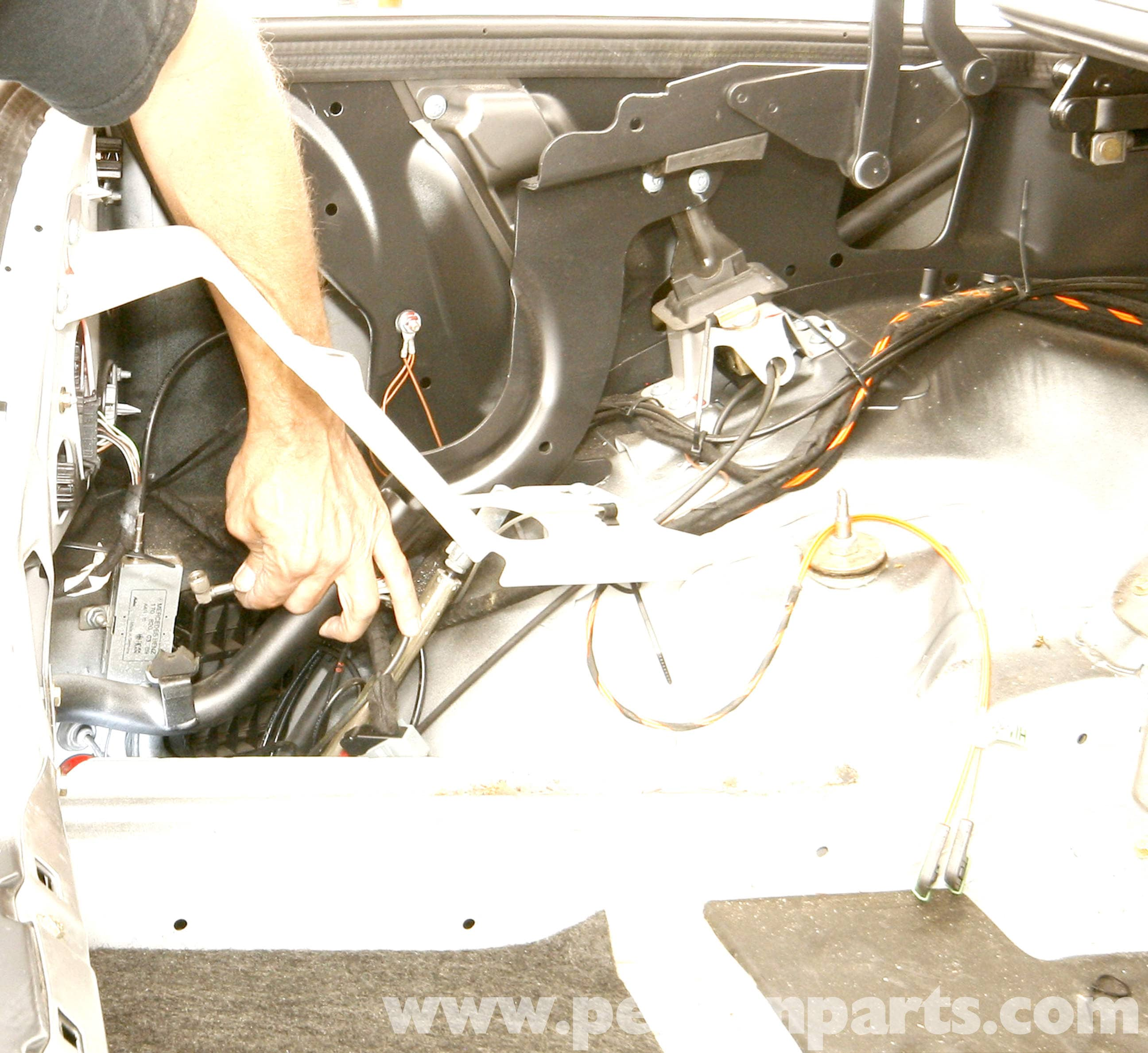 Mercedes Benz Slk 230 Rear Bumper Replacement 1998 2004