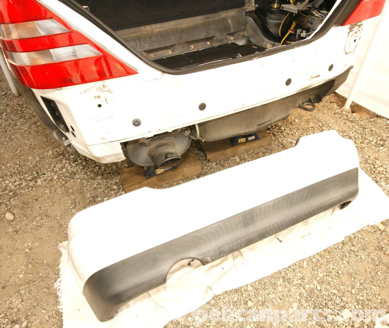 Mercedes benz slk 230 rear bumper replacement 1998 2004 for Mercedes benz bumper repair