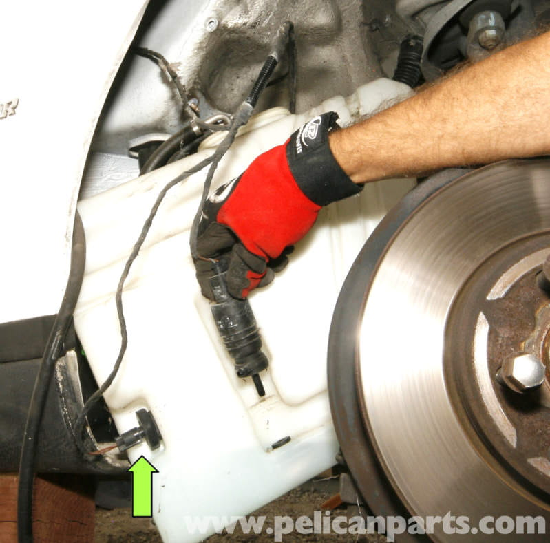 Mercedes Benz Slk 230 Windshield Reservoid Replacement
