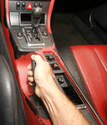 The manual specifies that the cable be adjusted so that 90-120 Nm of force are required to move the lever one click.