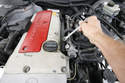 Begin by raising/securing the car and disconnecting the battery.