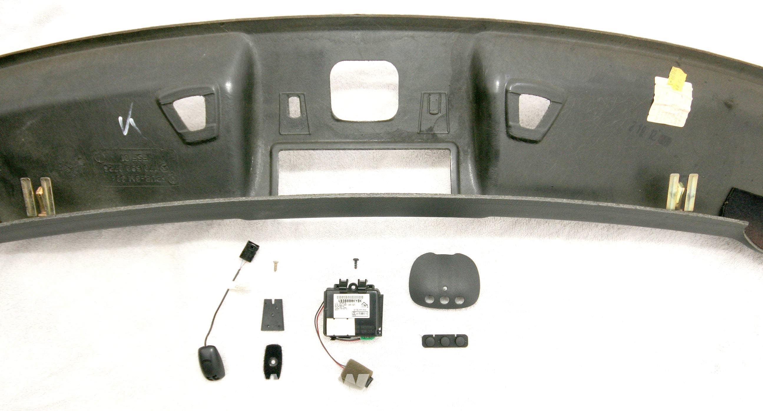 Mercedes Benz Slk 230 Homelink Module Cell Phone