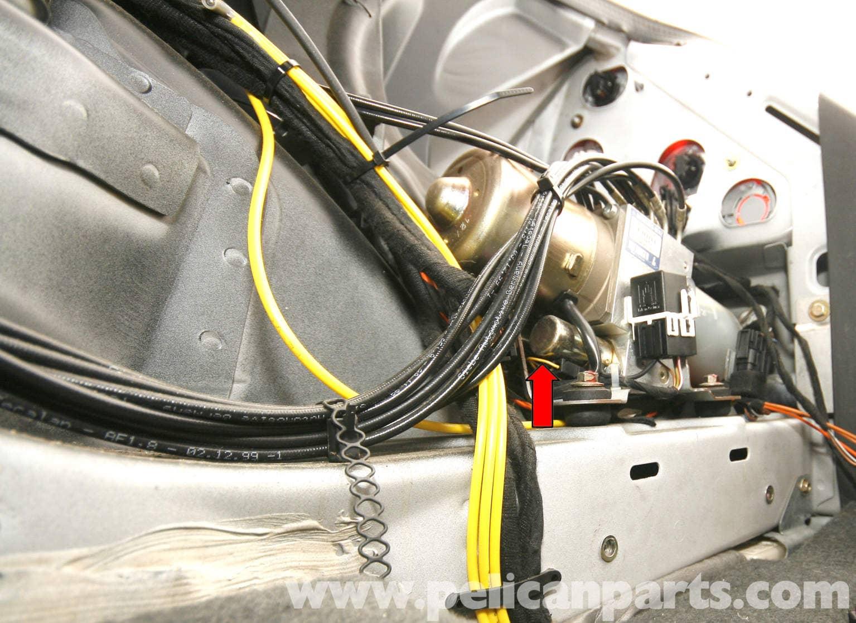 mercedes benz slk 230 vario roof hydraulic cylinder. Black Bedroom Furniture Sets. Home Design Ideas
