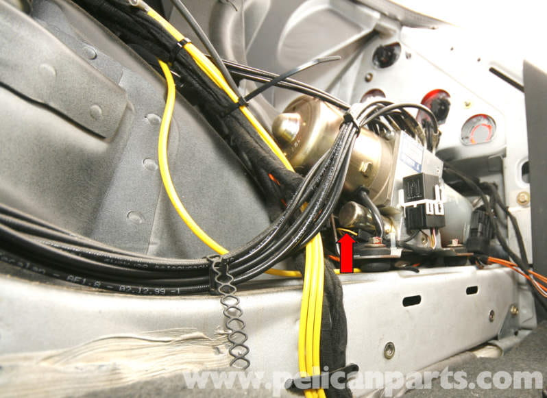 Mercedes Benz Slk 230 Vario Roof Hydraulic Cylinder
