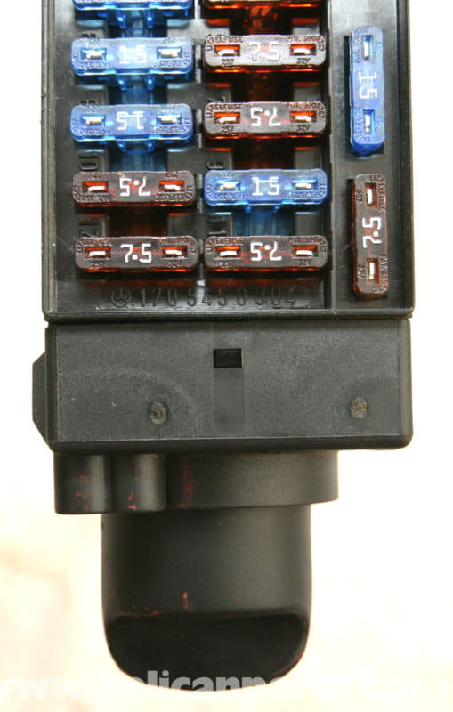 Pic on automotive fuse block