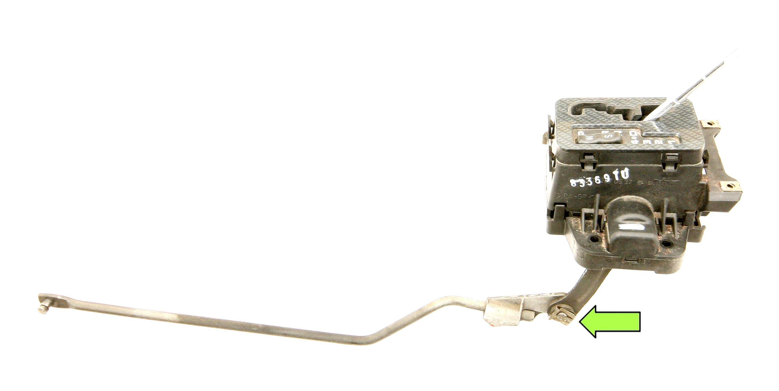 Mercedes Benz Slk 230 Gear Selector Lever Assembly Esm