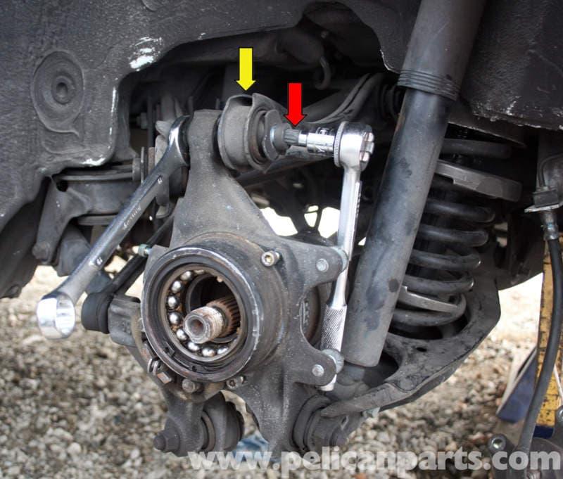 Mercedes Benz Slk 230 Rear Knuckle Wheel Carrier Removal