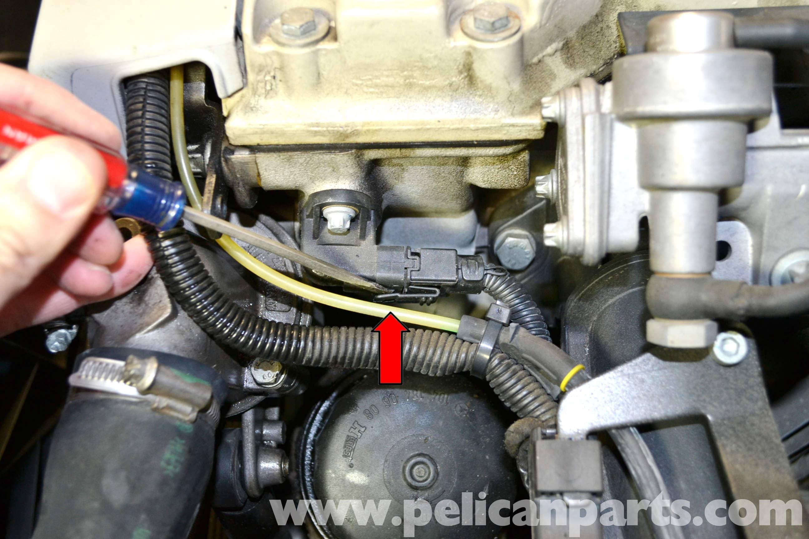 1999 Mercedes Slk 230 Wiring Diagram Benz Diagrams Camshaft Positioning Sensor Replacement