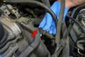 Remove the single E8 bolt.