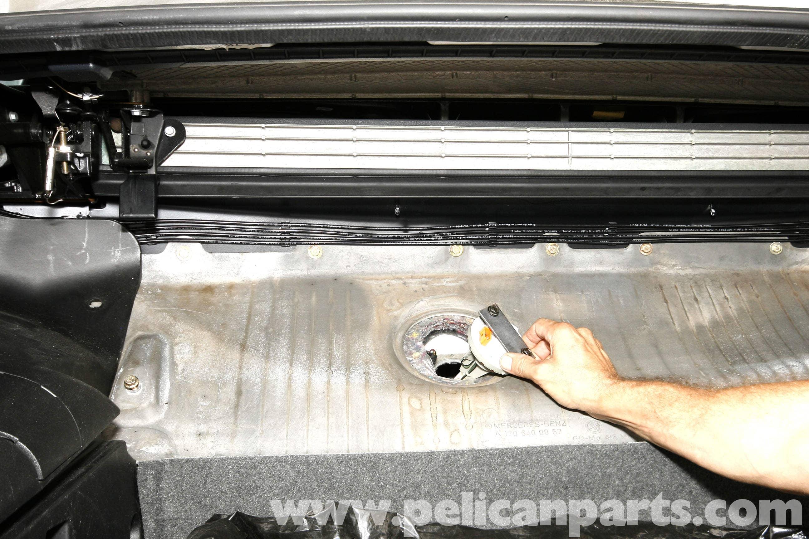 Mercedes benz slk 230 fuel level sender replacement 1998 for Mercedes benz slk230 parts