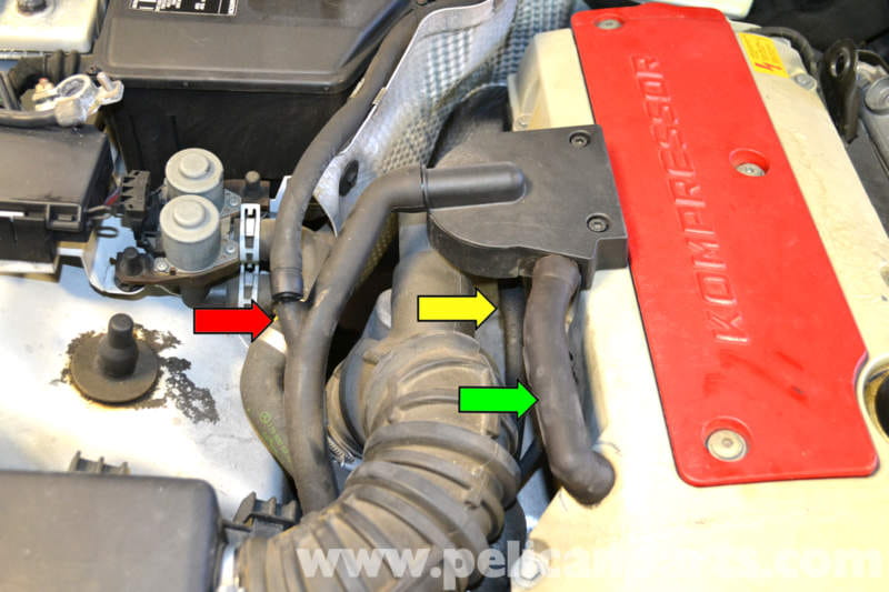 MercedesBenz    SLK       230    AirOil Separator Replacement   1998