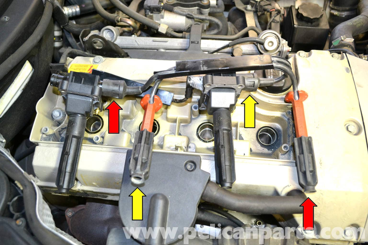 Plug Wires What Coil Attaches 1994 Bmw 318i Spark Plug Wire Diagram