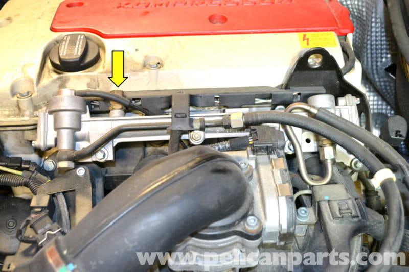 Mercedes benz slk 230 fuel injector replacement 1998 for Mercedes benz fuel injector problems