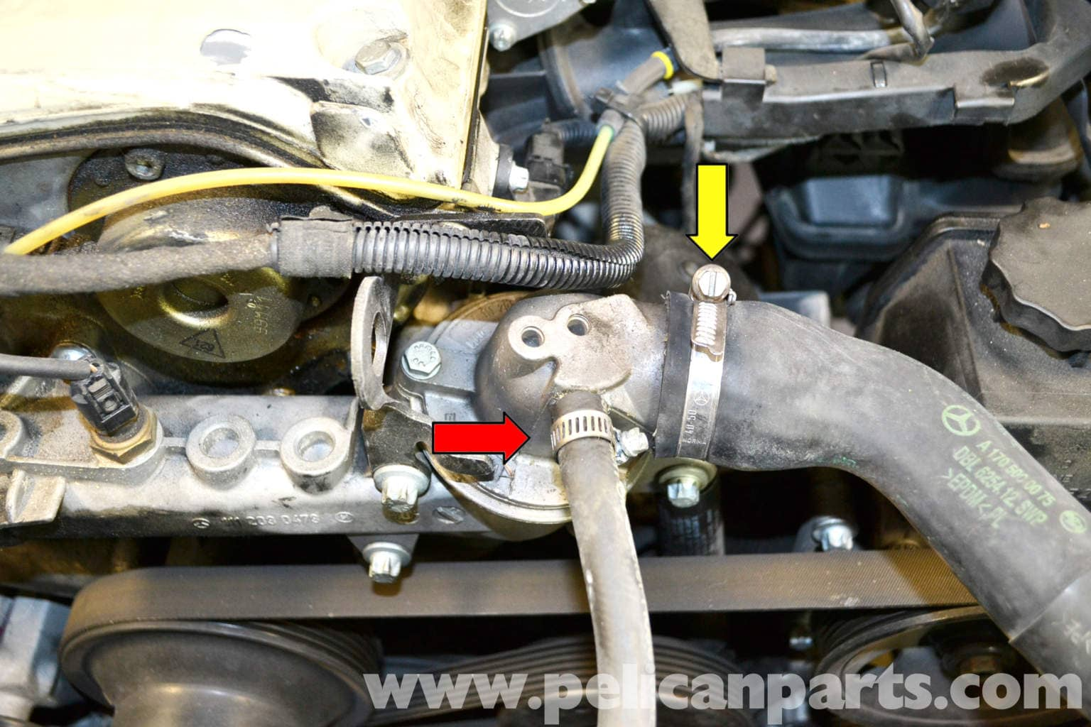 Mercedes Benz Slk 230 Coolant Flush And Replacement 1998