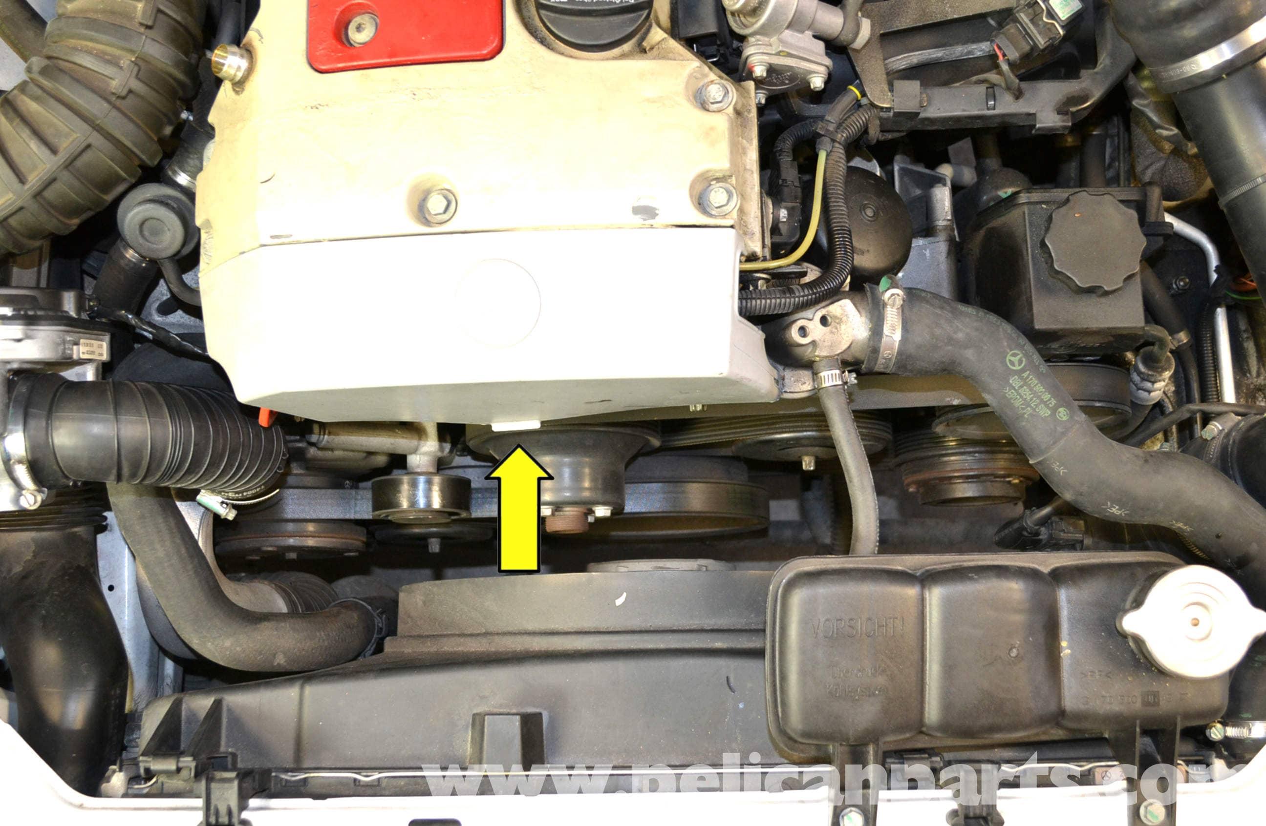 Mercedes benz slk 230 coolant temperature sensor for Mercedes benz engine coolant