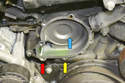 Inspect the pump area of the block for any deterioration or damage if the pump had a catastrophic failure.