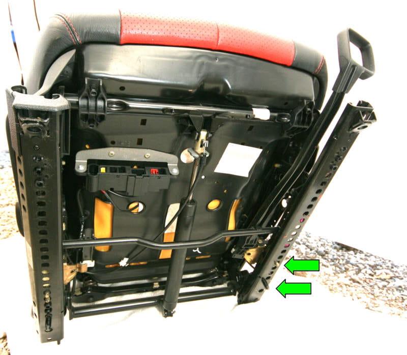 Mercedes Benz Slk 230 Seat Removal 1998 2004 Pelican