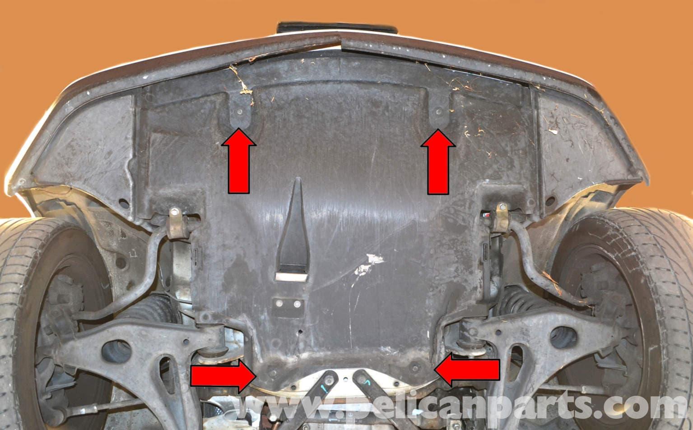Mercedes Benz Slk 230 Underbody Tray Removal 1998 2004