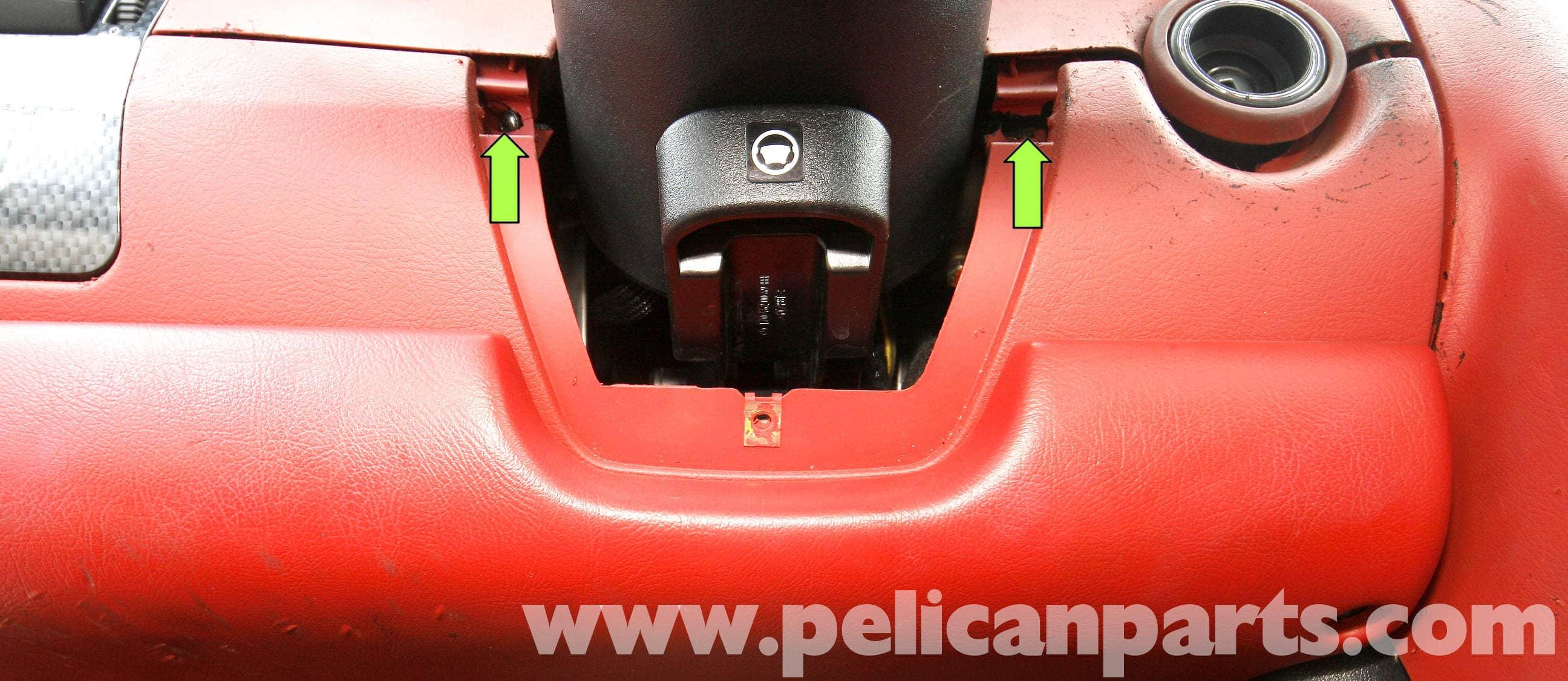 Mercedes Benz Slk 230 Lower Left Dash Panel Removal 1998 2004 Mercedez Cabin Fuse Box Large Image Extra