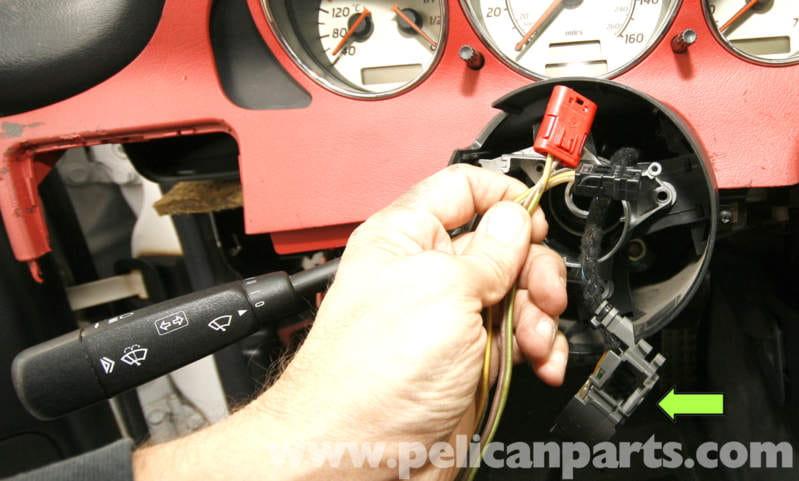 Mercedes-Benz SLK 230 Steering Angle Sensor Removal | 1998-2004