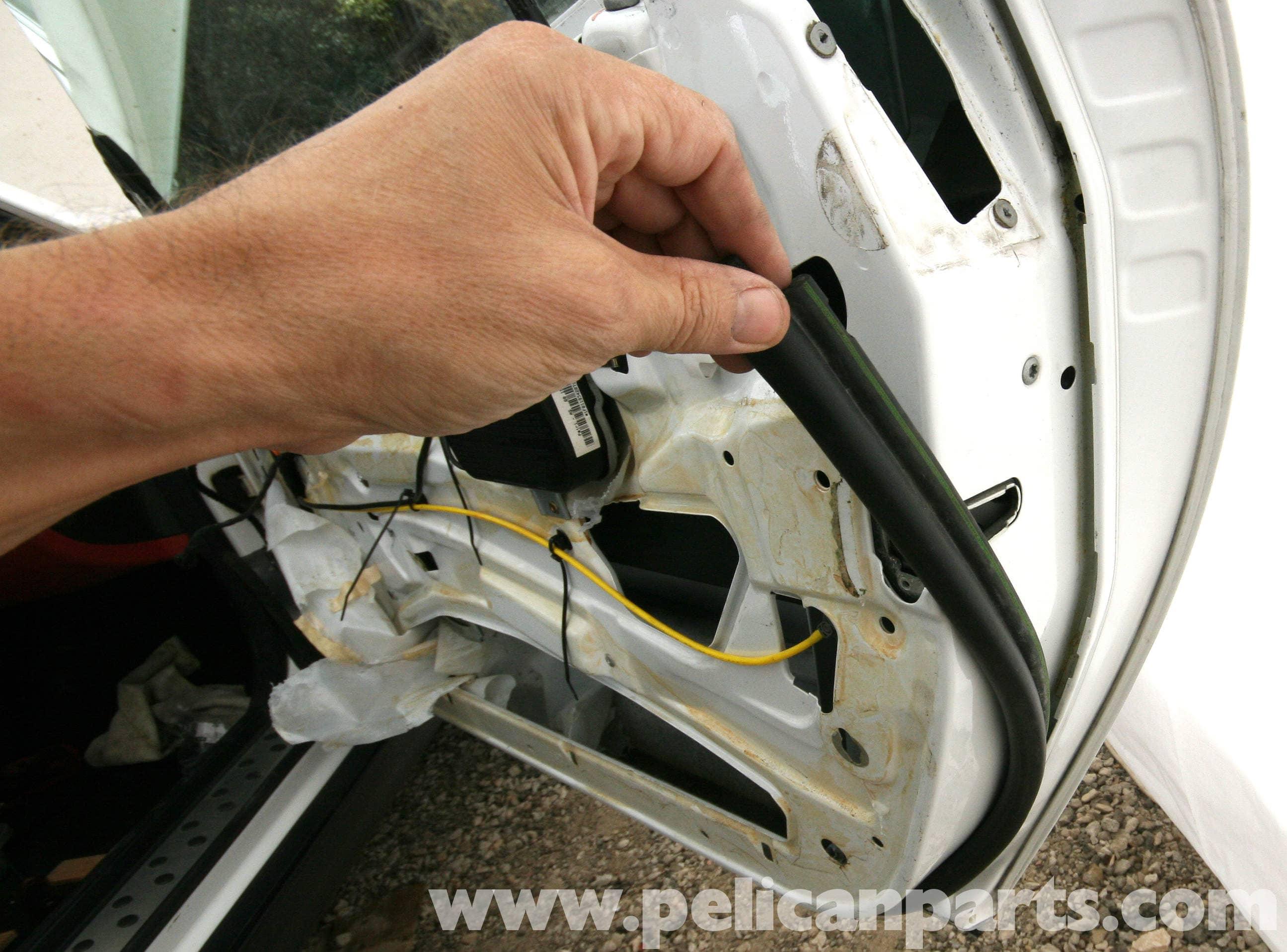 Mercedes Benz Slk 230 Door Weather Stripping Replacement