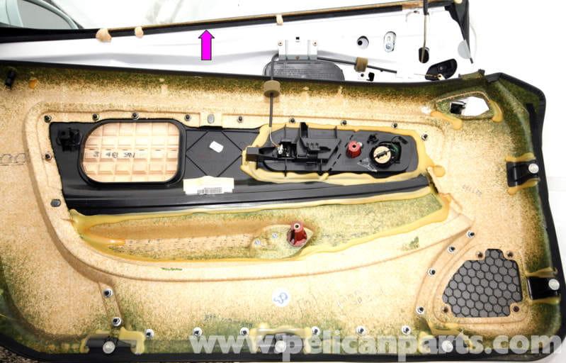 Mercedes Benz Slk 230 Door Weather Stripping Replacement 1998 2004 Pelican Parts Diy