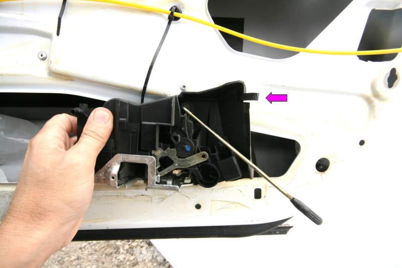 Mercedes Benz Slk 230 Door Lock And Latch Replacement
