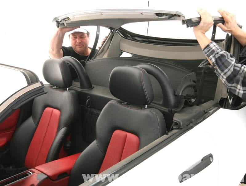 Mercedes Benz Slk 230 Vario Top Manual Closing Proceedure