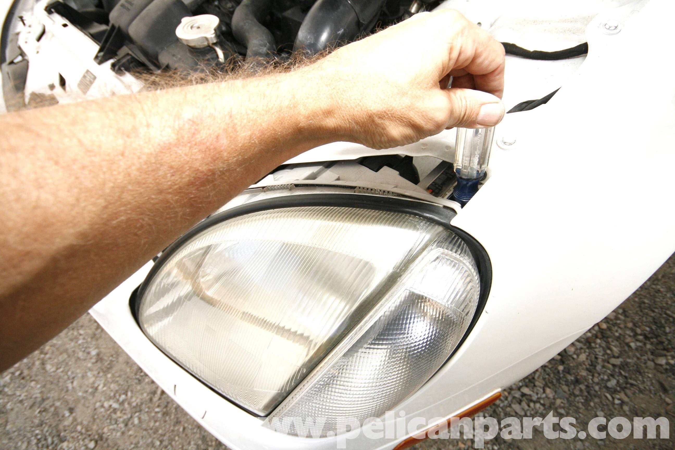Mercedes SLK R170 Clear Halogen Xenon HID Parking Beam Side Light Bulbs