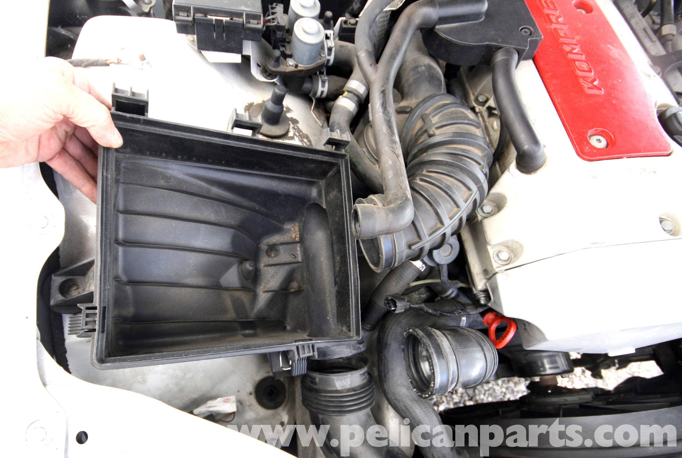 Mercedes Benz Slk 230 Air Intake Duct Removal 1998 2004