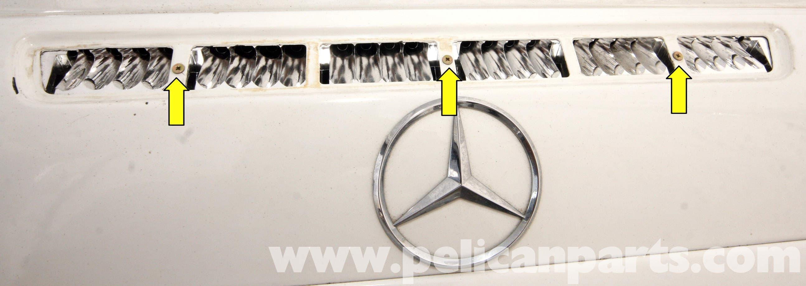 Mercedes Benz Slk 230 Third Brake Light Replacement 1998 2004 Dash Symbols Large Image Extra