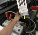 A load-tester is an affordable DIY tool for assessing battery health.