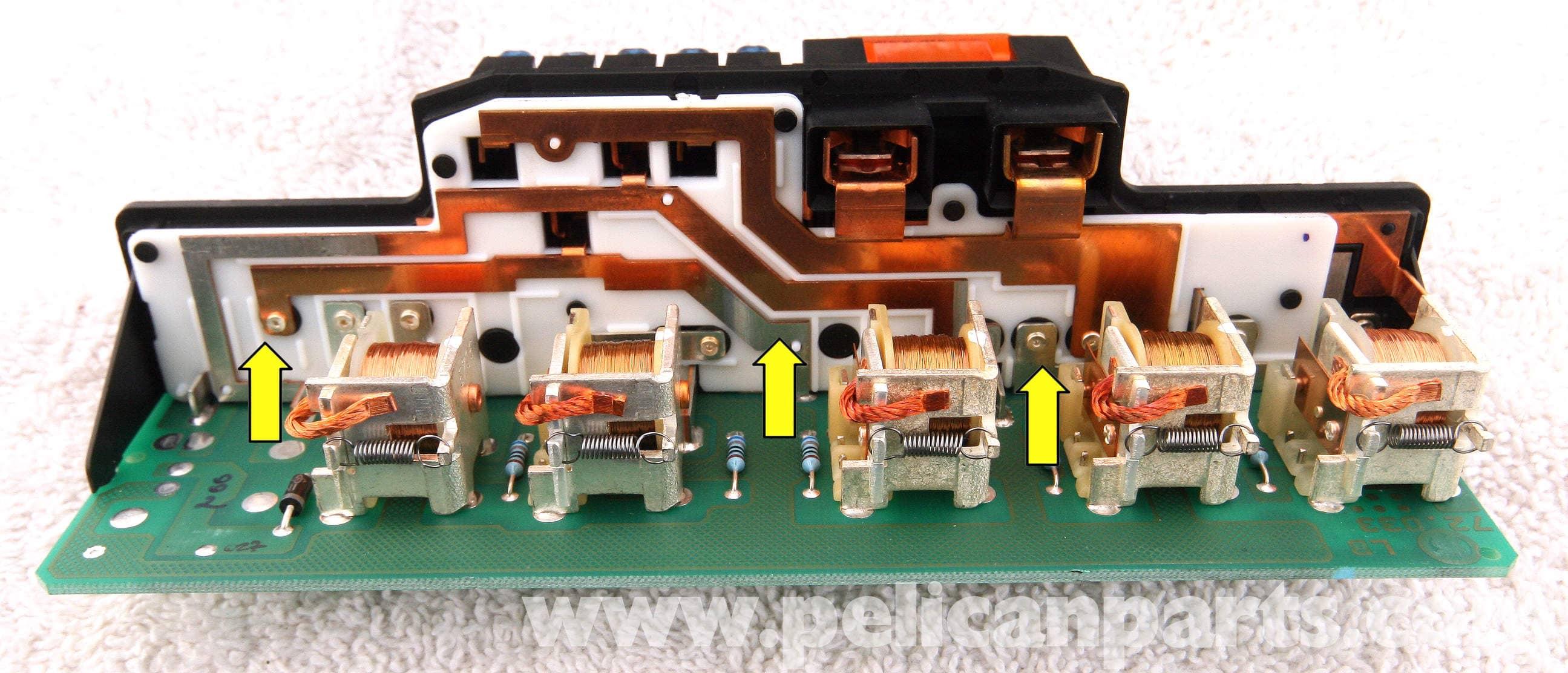 Mercedes-Benz SLK 230 K40 Overload Protection Relay Repair | 1998