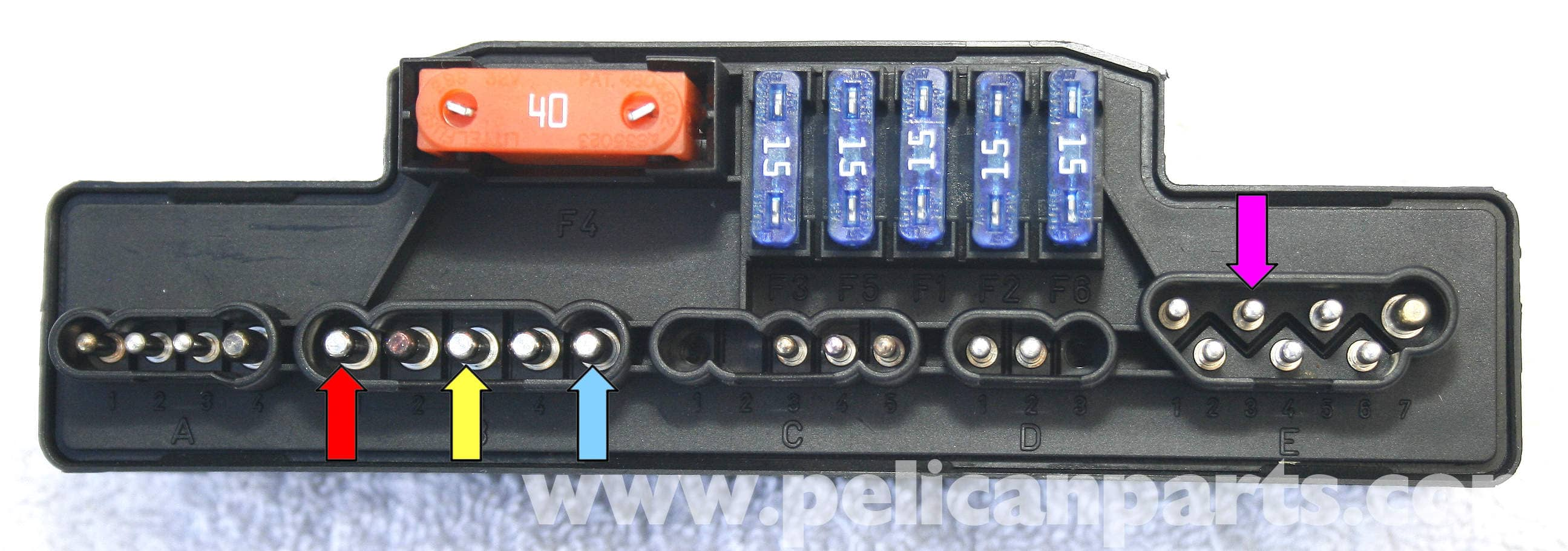 Mercedes Benz Slk 230 Wiring Diagram Wire Center Pr4401 1watt Led Drivercircuitdiagram K40 Overload Protection Relay Repair 1998 Rh Pelicanparts Com 95 C280 Radio