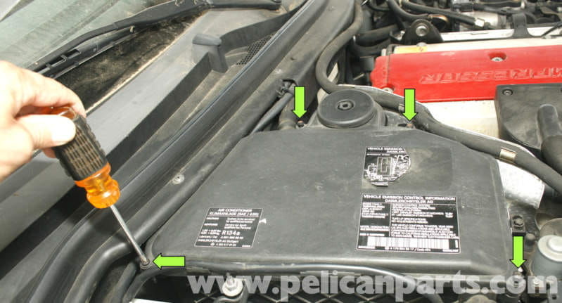 Mercedesbenz Slk 230 K40 Overload Protection Relay Repair 1998 Rhpelicanparts: The Location Of Fan Relay On 1998 C280 Mercedes Benz At Gmaili.net
