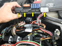 Pull the plugs off the K40 and remove it from the car.