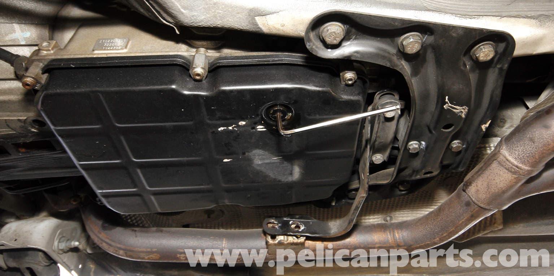 Mercedes benz slk 230 automatic transmission fluid change for Mercedes benz oil change price