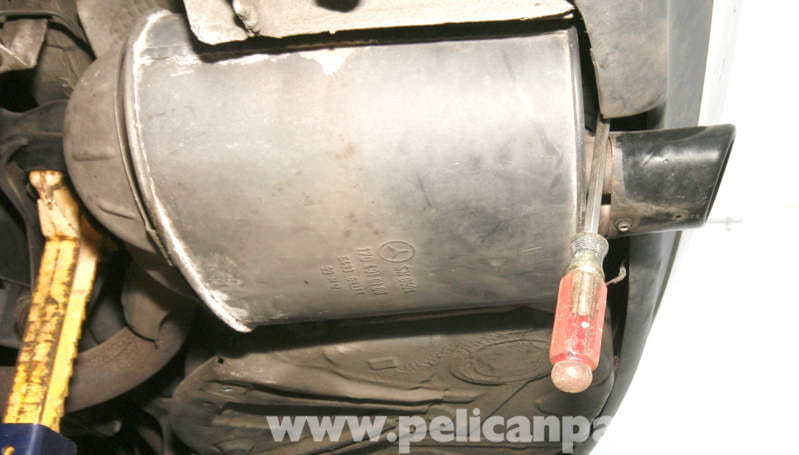 Mercedes Benz Slk 230 Muffler And Tailpipe Replacement